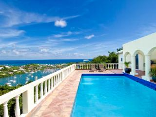 ARCADIA... Irma Survivor! charming hillside 4BR villa... wonderful sea &amp