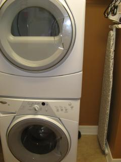 In Unit Laundry Room/Full Size Washer & Dryer