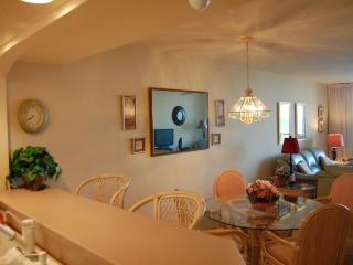 Patio,kitchen,living,dining room,master bedroom all view pool,wide beach,beautiful Gulf of Mexico.
