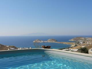 Magnificent Mykonos villa with spectacular views, Kalafatis
