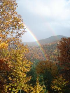 Somewhere over the rainbow, vacation dreams come true at Adirondack Views!