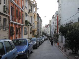 Street of our apartment Taksim Rental apartment