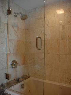 shower & jacuzzi tub