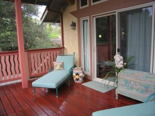 Private Sun Deck at King Suite Entrance