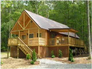 Luxury Cabin with outdoor hot tub nestled in WV