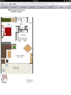 Floor Plan - apartment size, approx 90 sq mt