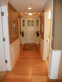 Hallway - Unit entranceway