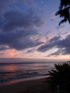 Sunset at Maalaea.
