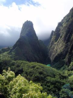 Iao Needle, a great spot to explore - with easily accessible paths and hand rails