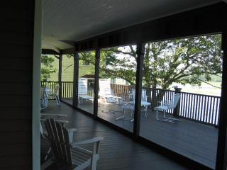 Porch view looking westerly