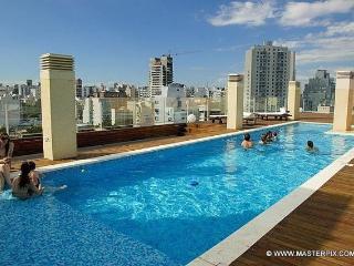 *Lux. 2 bed, 2,5 bath Palermo Live Hotel 5*amenit*, Buenos Aires
