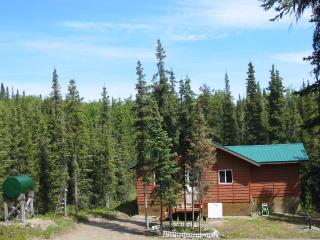 Cabin rental in Alaska's quiet, wilderness setting, Kasilof