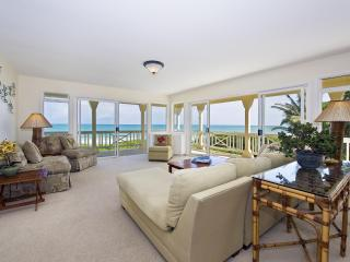 Living Room with Breathtaking Views of Kailua Bay, the Pacific Ocean, Offshore Islands