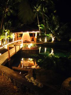 Island Bedroom at Night