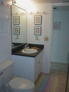 Second bath room of this unit has a shower and serves the unit very well