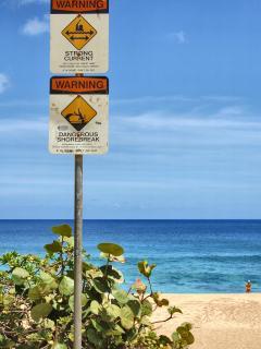 Sunset Beach is just a short bike ride away