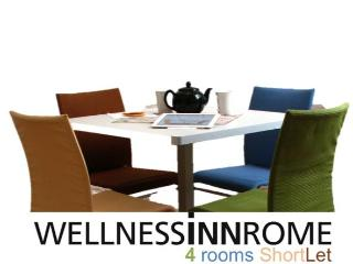 WELLNESSINNROME ShortLet 4Rooms 3Baths, Rome