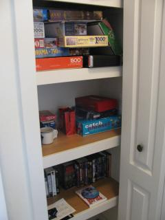 One of the game closets