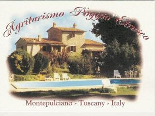 Poggio Etrusco: Montepulciano Tuscany. Organic farm with B&B, apartments, + acclaimed cooking school