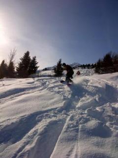 Snowboarding Off Piste