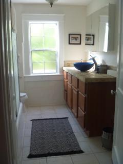 UPSTAIRS WATERFALL BATHROOM