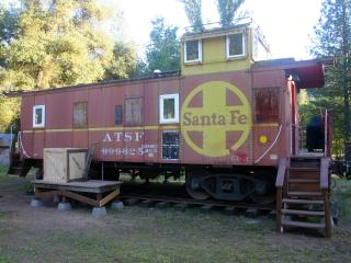 Little Red Caboose in the heart of Yosemite Area.