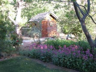 The Log House at Sunset Canyon Ranch