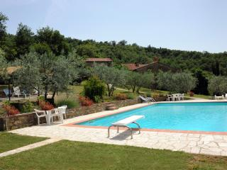 3 Cottages in an ancient Tuscan village with Pool, Castiglion Fiorentino