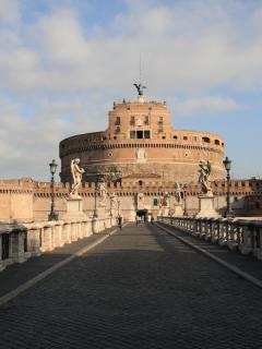 Castel Sant'Angelo, 3 minutes walk from B&B La Casa del Conte