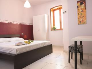 double room, with balcony, bathroom,hayr dryer,tv lcd,fridge,air condicioning,wi-fi,cots avaible.