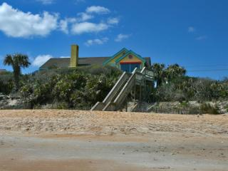 House seen from beach