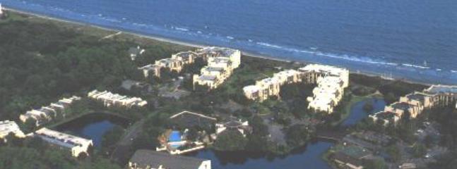 Vue aérienne de l'Island Club