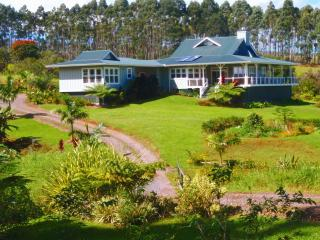 Elegant luxury home, 20 ac, ocean view, Hilo