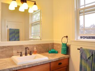 4th bathroom (w marble shower) adjoins studio bedroom