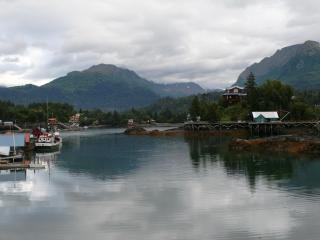 A Glacier Vista in Beautiful Homer Alaska