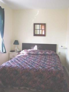 White Cabin Bedroom