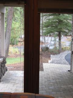 View from Queen Bed Bedroom towards Lower Deck