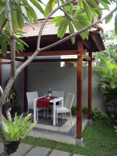 Courtyard to enjoy a Bintan