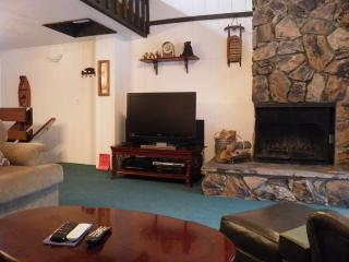 42' HDTV AND FIREPLACE