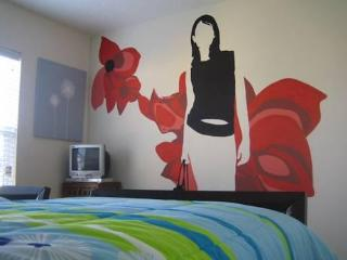 Fashion Themed Twin Room