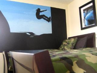 Skateboarding Themed Twin Room