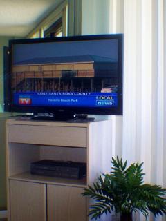 Three Flat Screen Televisions
