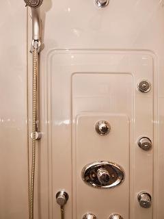 Close up of Shower Sprays