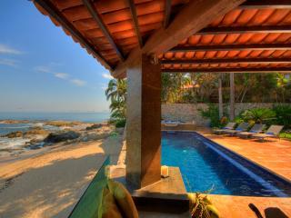 CASA CALETA-6-Bdrm Beachfront Villa-Conchas Chinas, Puerto Vallarta