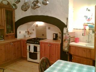 Old Style well equipped kitchen