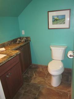 Unit E6 New half-bath conveniently located on main level
