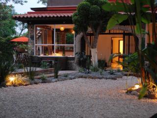 Garden in the evening