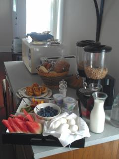 A breakfast sample