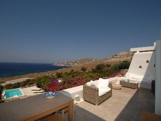 Sunset Villa Mykonos villa rentals, villas to let on mykonos, accommodations on mykonos island greece, greek island accommodations