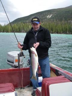 Barney at White Tail Lake May 2011